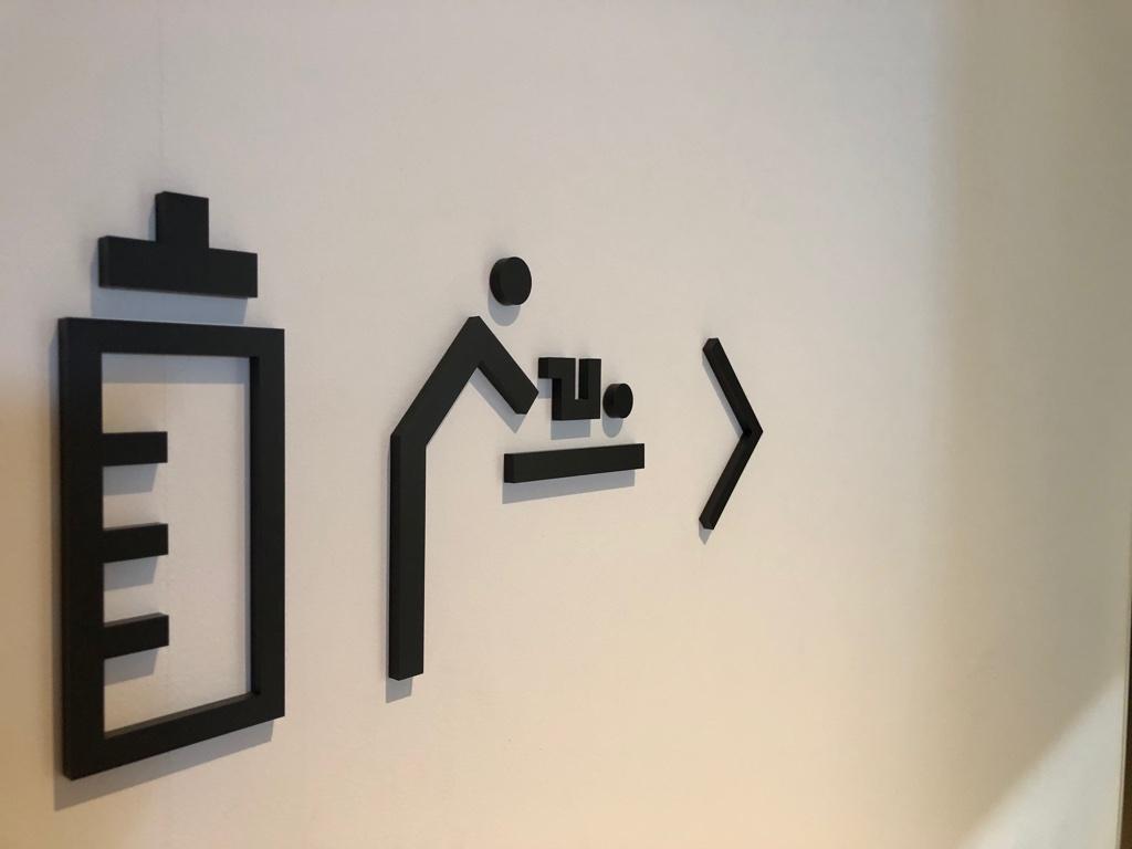 授乳室表記 by iPhone X