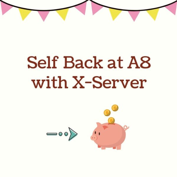 Self Back at A8 with X-Server