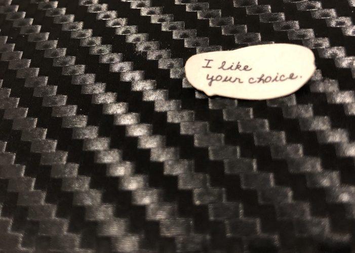 i like your choice