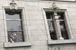大阪府立図書館の窓