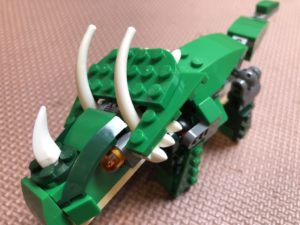 Lego triceratops